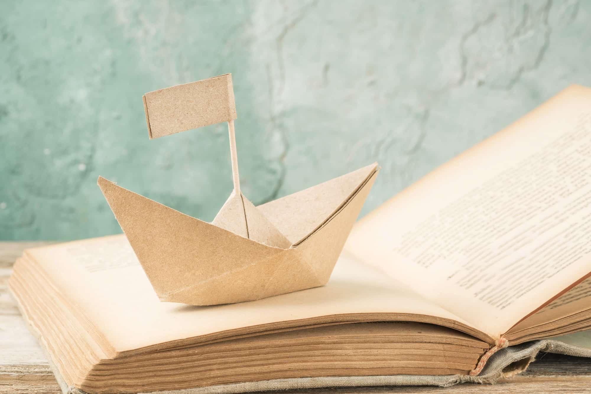 Buchautor an Bord