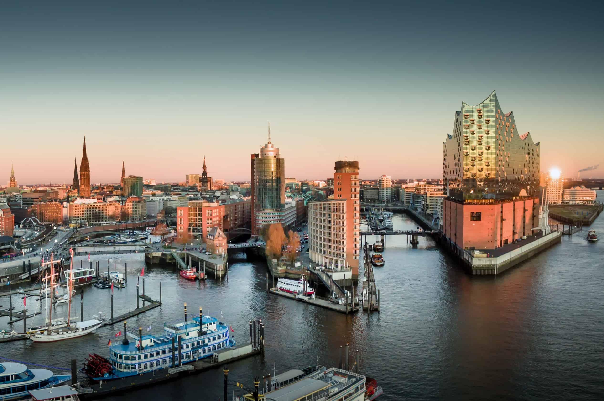 Hünnebecks Heimat Hamburg